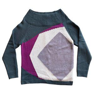 Burberry Prorsum Fall 2012 Green Cashmere Sweater